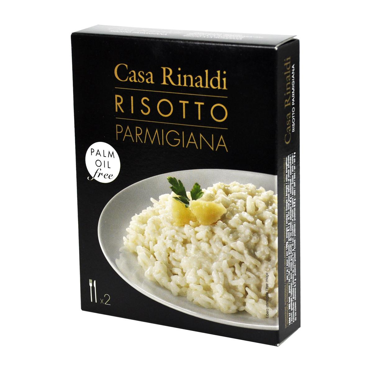 Ризотто с пармезаном Casa Rinaldi 175г - Casa Rinaldi - продукты итальянского фермерства в Киеве