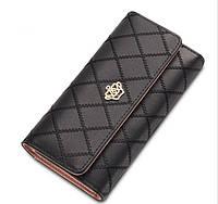 Клатч кошелек Baellerry женский черный HG3ZBl, фото 1