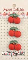Пуговицы фигурные «Cherries» Buttons Galore, фото 1