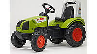 Педальный трактор Claas ARION 430 Falk оливковый
