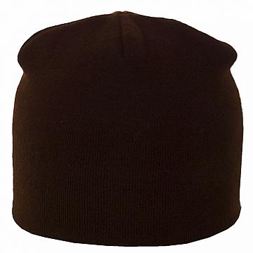 Коричнева і помаранчева спортивна подвійна шапка лопатка