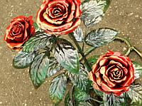 Изготовим кованые розы в Херсоне на заказ