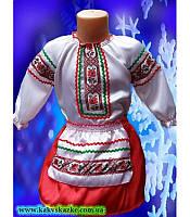Карнавальный костюм украинки для малышей, украинский народный костюм ( от 2 до 4 лет. )