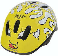 Шлем велосипедный SMJ Sport str-050451-d желтый - 26766