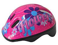 Шлем велосипедный Axer happy flower pink - 44282