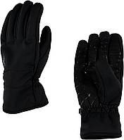 Горнолыжные мужские перчатки Spyder M faser conduct black/polar (MD 17)