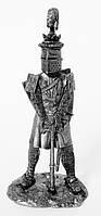 Оловянная миниатюра. Людовик IX Святой Король Франции. 7ой крестовый поход 1250 г.