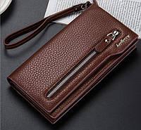 Клатч портмоне Baellerry  201507Br коричневый, фото 1