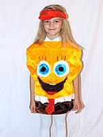 Дитячий новорічний карнавальний костюм спанч боба
