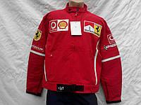 Куртка мужская Ferrari красная