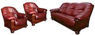 """Комплект кожаной мебели """"Hammer"""" (Хаммер). (3р+1+1)"""