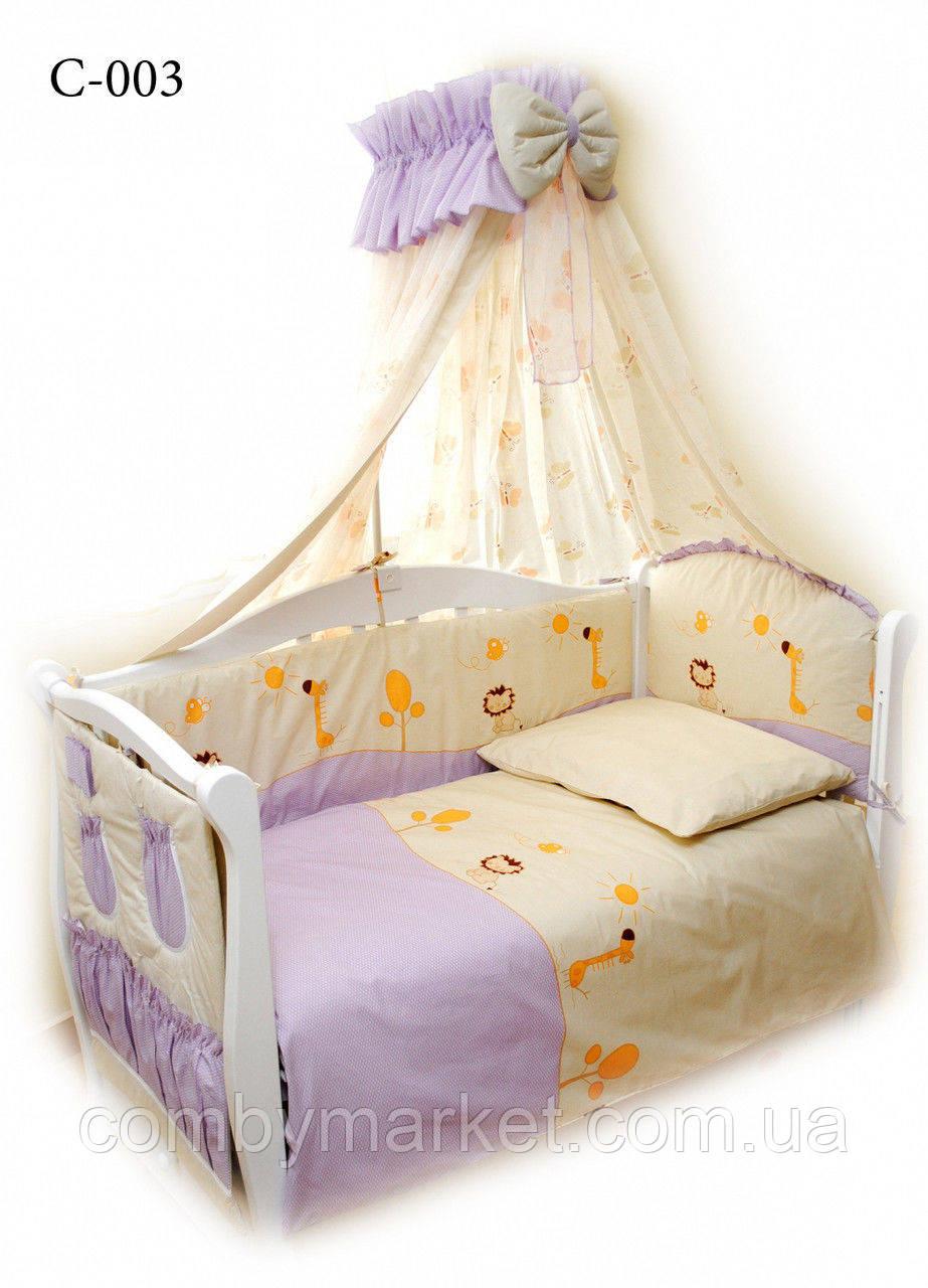 Детская постель Twins Comfort С-003 Африка фиолет