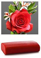 Мастика красная цветочная МариАнна 500г