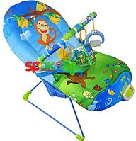 Детский шезлонг-качалка 60662 HN KK