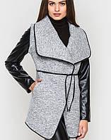 Комбинированное пальто   7130 sk