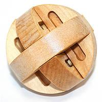 Головоломка деревянная Шарик