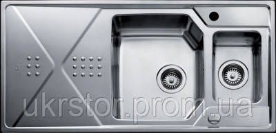 Кухонная мойка TEKA EXPRESSION 1 1/2 B 1D полированная, фото 2