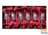 Набор хрустальных бокалов для вина Suggest