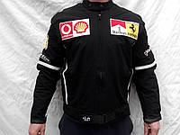 Куртка мужская Ferrari черная