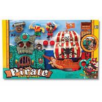 Игровой набор Приключения пиратов Битва за остров Keenway 10763