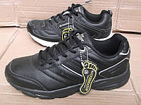 Кожанные кроссовки Restime