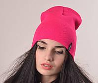 """Шапки. Молодежные шапки. Шапка для девушек """"Бруклин"""" розовый."""