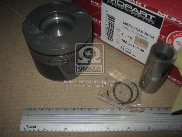 Поршень двигателя MERCEDES (Мерседес) 88,00 OM646 / 647 / 648 (пр-во Mopart)