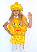 Дитячий новорічний карнавальний костюм колобка