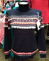 Теплый женский свитер х-826
