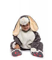 Костюм Зайчик - малыш серый ( от 0,5 до 2,5 лет.  )
