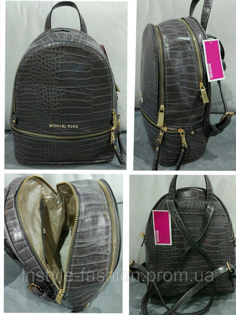 Рюкзак женский брендовый сумка Michael Kors Майкл Корс, фото 2. В наличии   Оптом и в розницу ... b58a140af85