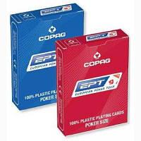 Карты покерные Copag EPT, 100% пластик