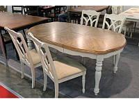 Стол раскладной обеденный T 14252 OAK/WW