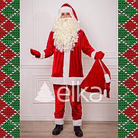 Костюм Санта Клауса Эконом (без бороды и парика)