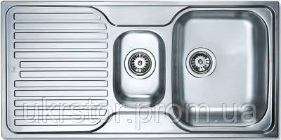 Кухонная мойка TEKA PRINCESS 1 1/2 B 1D  полированная, фото 2