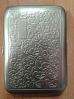 Портсигар Angelo металл с узором 800380
