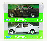 "Машина Welly  ""Cadillac Escalade EXT 2002"", металлическая, масштаб 1:24,  22430W"