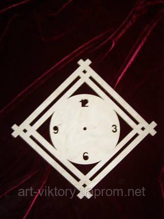 Часы круг в квадрате, фото 2