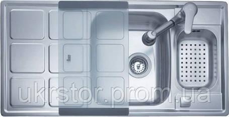 Кухонная мойка TEKA CUADRO 60 B (без аксесуаров) полированная, фото 2