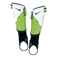 Щитки футбольные Nike protegga shield бело-зеленые /sp0255 135 - 19174