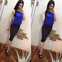 """Стильная юбка """"МИДИ""""!!!!(48-52)"""