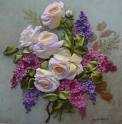 Наборы для вышивания картин шелковыми лентами (Украина)
