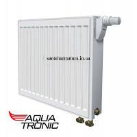Стальной радиатор 500*1100 22 класс  Aqua tronik нижнее подключение