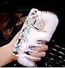"""SONY C3 D2502 XPERIA оригинальный чехол со стразами камнями мехом для телефона """"LUXURY PRIVILEGE"""", фото 8"""