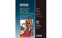 Бумага Epson 100mmx150mm Value Glossy Photo Paper 100 л.