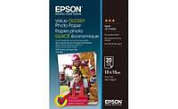 Бумага Epson 100mmx150mm Value Glossy Photo Paper 20 л., C13S400037