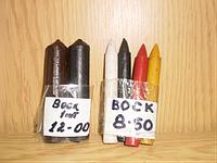 Восковые карандаши для заделки трещин и дефектов на коже.