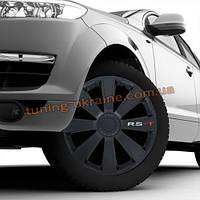 Автомобильные колпаки на колеса РСТ черные (RST Black) R13