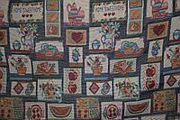 Ткань Гобелен дом