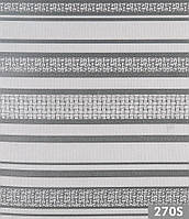 Мебельная велюровая ткань Премиум страйп 270S